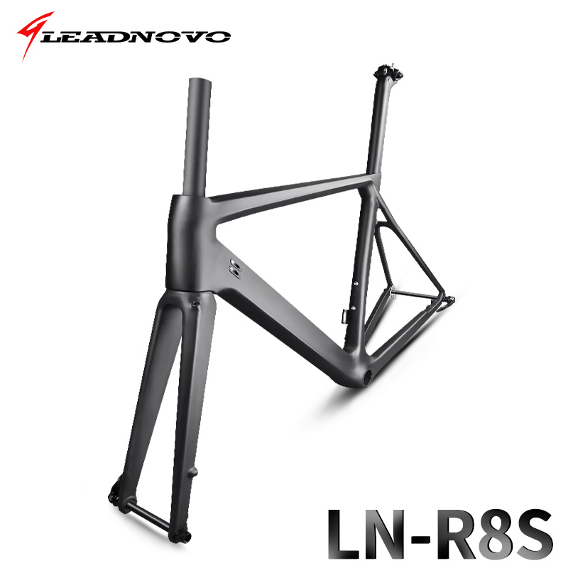 2018 NEW disc brakes Carbon Road bike Frame T800 QR or thru axle disc brake carbon fibre bicycle bike frame 47/49/51/53/55cm 2017 flat mount disc carbon road frames carbon frameset bb86 bsa frame thru axle front and rear dual purpose carbon frame
