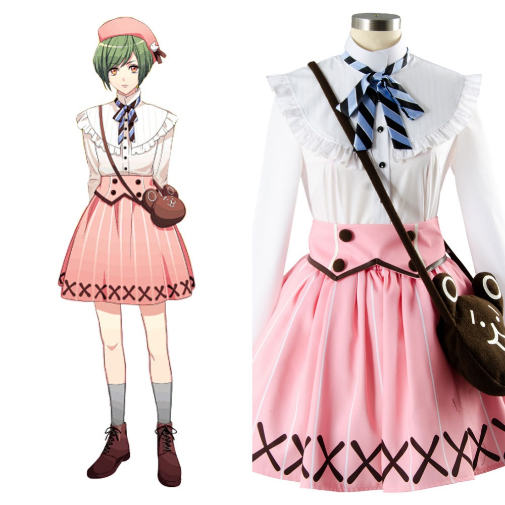 Cosplay A3!Rurikawa Yuki Summer Troupe Outfit Cosplay Costume Full Set Outfit Coat Jacket  Halloween carnival Costume