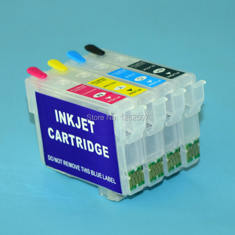 XP-231 XP-431 XP-241 XP-441 296 2961 T2971 T2962 T2963 T2964 Refillable Ink Cartridge With Chip For Epson XP231 431 241 Printer