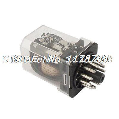 цена на JQX-10F-3Z DC 12 Volts Coil Electromagnetic Relay 11 Pins 3PDT 3P2T 3 NO 3 NC