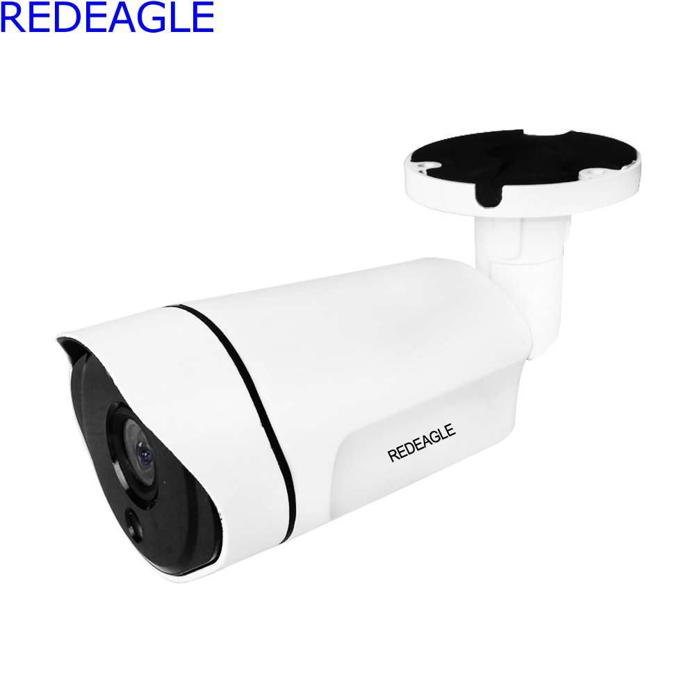 REDEAGLE Metal Body 1080P 2MP AHD Camera HD CCTV Outdoor Waterproof Night Vision Bullet Security Cameras Ultra Low Illumination new 2mp hd 1080p ahd security camera cctv white metal mini bullet video surveillance waterproof ir night vision vandal proof