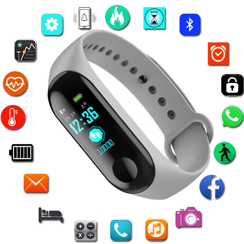 Sport Bracelet Smart Watch Women Men For Android IOS Smartwatch Fitness Tracker New Electronics Smart Clock