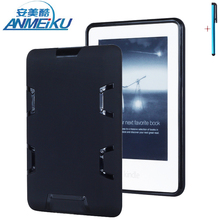 Case For Amazon Kindle Paperwhite 2015 Tablet eBook Reader Case Silicone PC Hard Shockproof Heavy Duty Armor Kids Safe Protector
