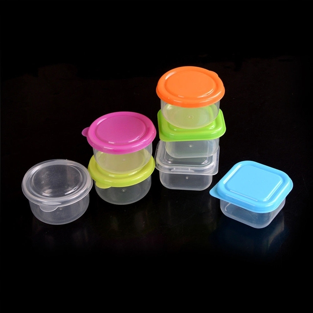 3pcsset Transparent Plastic Food Storage Box Kitchen Refrigerator