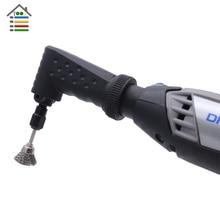 AUTOTOOLHOME 90 Degrés Angle Droit Conducteur Convertisseur Rotatif Accessoire Outil coupe Dremel 4000 3000 275 8200 pour les Zones Difficiles à atteindre