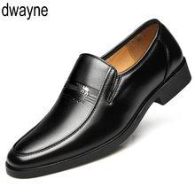 4e3d7d4f3 Inverno Quente Com Veludo Sapatos de Couro Homens Se Vestem Sapatos  Masculinos Clássico de Negócios Do Dedo Do Pé Quadrado Sapat.