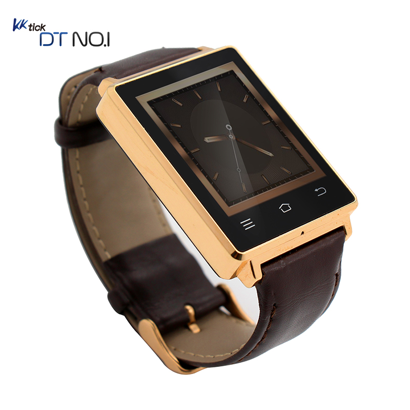 DTNO. I ROM MTK6580 Quad A Core Android reloj Inteligente Smartwatch D6 Hombres