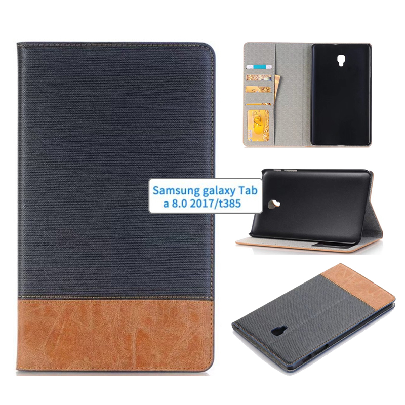 New 2017 Business Leather Case For Samsung Galaxy Tab A 8.0