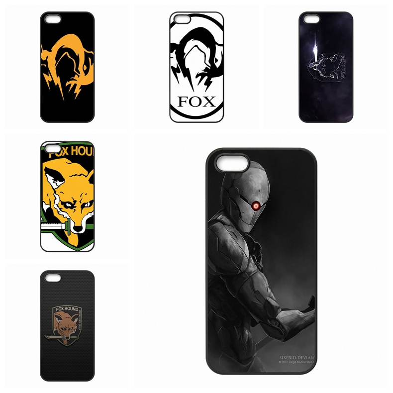 Custom Phone Case Original Metal Gear Solid Fox Hound For Apple iPhone 4 4S 5 5C SE 6 6S Plus 4.7 5.5 iPod Touch 4 5 6