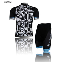 XINTOWN Bike Clothing Graph Bicycle Ropa Ciclismo Cycling Kit Bike Shirt Pants Bicycle Jersey (BIB) Shorts