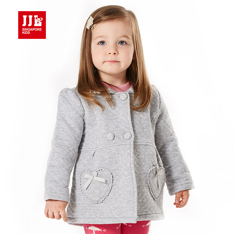 2015 new winter baby girls clothes classical turn down collar baby coats for girls high quality brand children clothes free ship lavensey original new children thick cotton turn down collar fashion coats for girl baby clothing free shipping