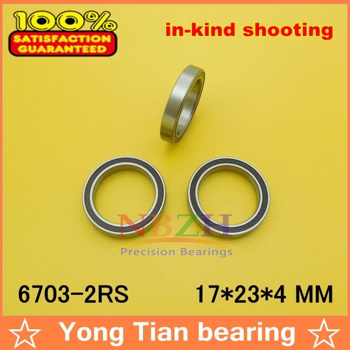 Высокое качество ультра-тонкий из нержавеющей стали подшипник S6703 S6703ZZ S61703Z SS6703ZZ S6703-2RS 17*23*4 мм 440C материал