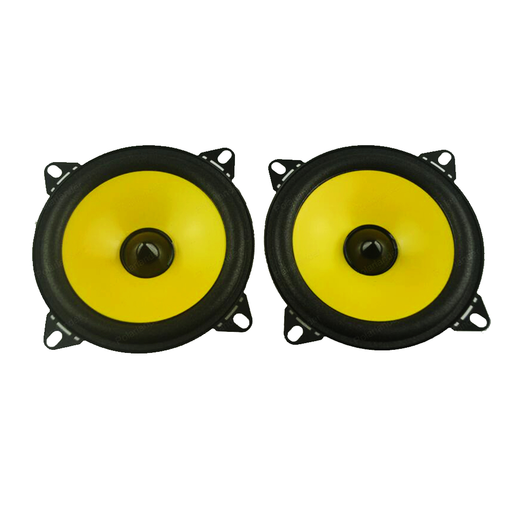 a pair Full-range car audio stereo speaker PS401D 2x60W car speaker Automobile automotive 4 inch Loudspeakers