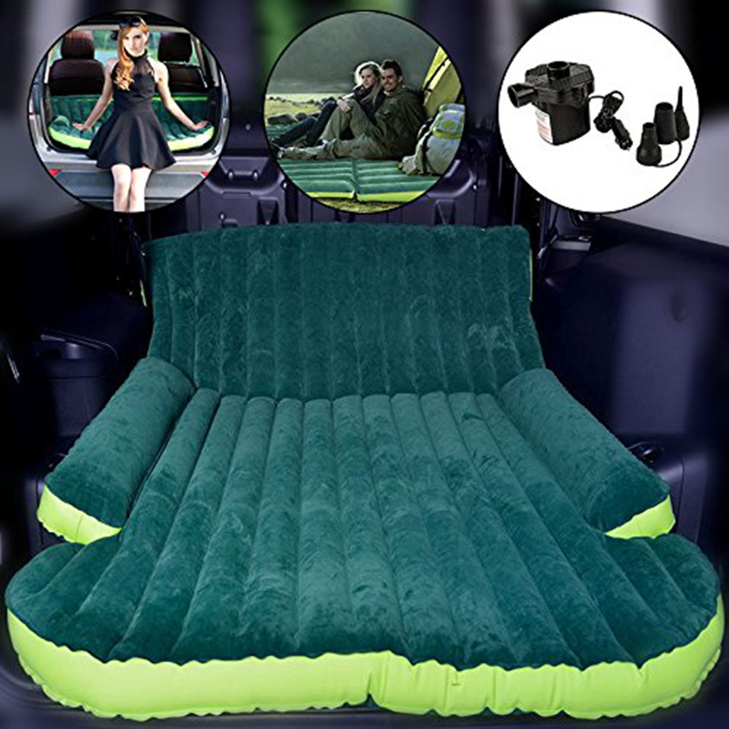 SUV Automobile Traveling Camping Inflatable Air Mattress Tapete Intex Sleeping Rest Car Back Seat Bed Beach
