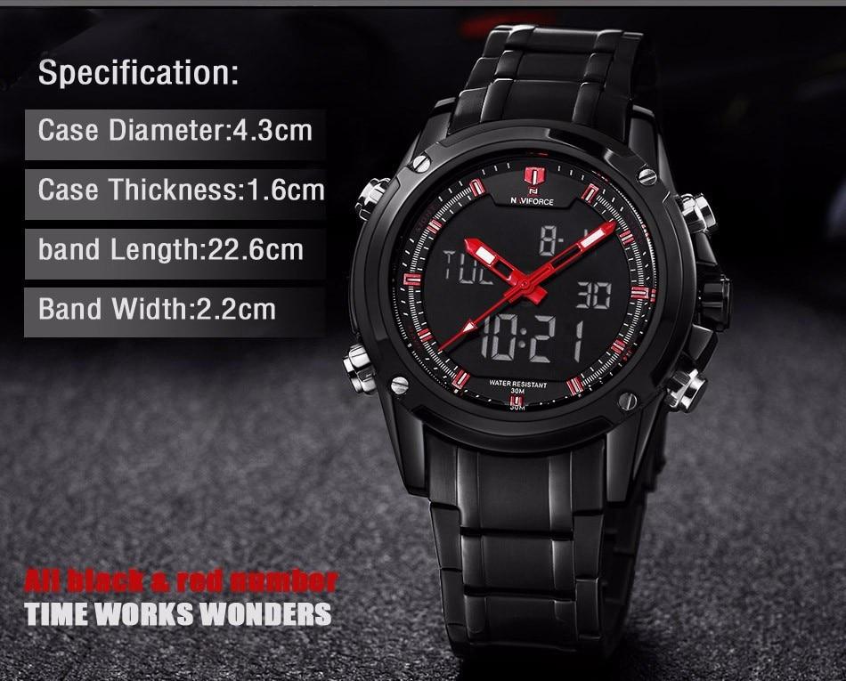 High Quality masculino reloje