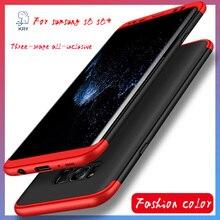 2017 новый Для антидетонационных S 8 + Телефон Случаях 360 всего тела galaxy бампер случае Крышка Телефона KRY Для Samsung Galaxy S8 Плюс G955 Крышка