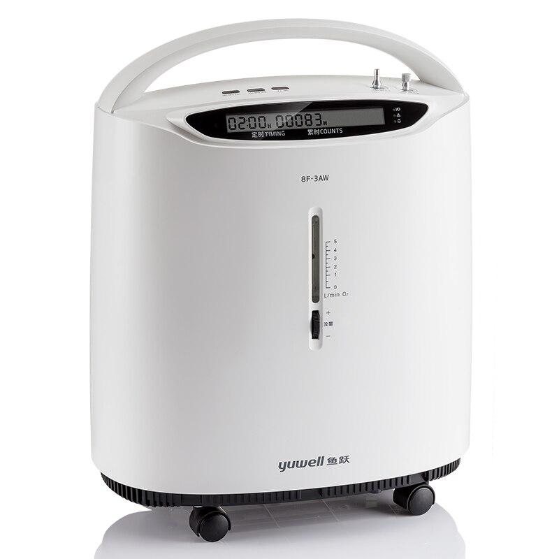 Yuwell 8F-3AW Tragbare Sauerstoff Konzentrator Medizinische 3L Intelligente Alarm Sauerstoff Generator Medizinische Hause Sauerstoff Gerät