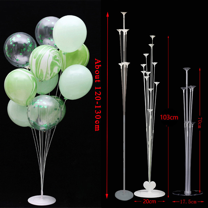 70/100/130cm Balloon Stand Kids Happy Birthday Party Balloon Stick Holder Wedding Decoration Baloon Accessories Festival Ballon