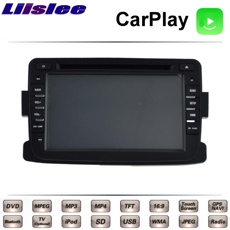 Liislee For RENAULT DUSTER 2010~2018 Car Multimedia TV DVD GPS Radio Carplay Original Style Navigation Navi liislee for honda for cr v for crv 2007 2011 car multimedia tv dvd gps radio carplay original style navigation navi