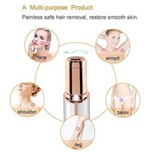 Mini Electric Body Facial Hair Remover Razor Depilator Defeatherer Fashion Removal Body Face Neck Leg Hair Removal Women Razor