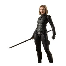 Movie Avengers Infinity War PVC Action Figures Black Widow A