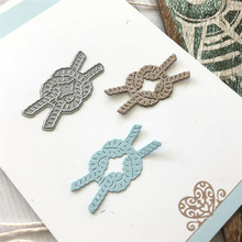 Buy YaMinSanNio Ocean Series Metal Cutting Dies New 2019 for Card Making DIY Scrapbooking Embossing Cuts Craft Die Rope Knot Element directly from merchant!