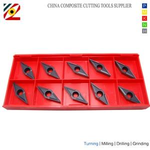 Image 4 - EDGEV 10pcs CNC Draaibank Cutter Carbide Inserts VBMT160404 VBMT160408 VBMT331 VBMT Wolfraam Draaien Gereedschap Staal P type