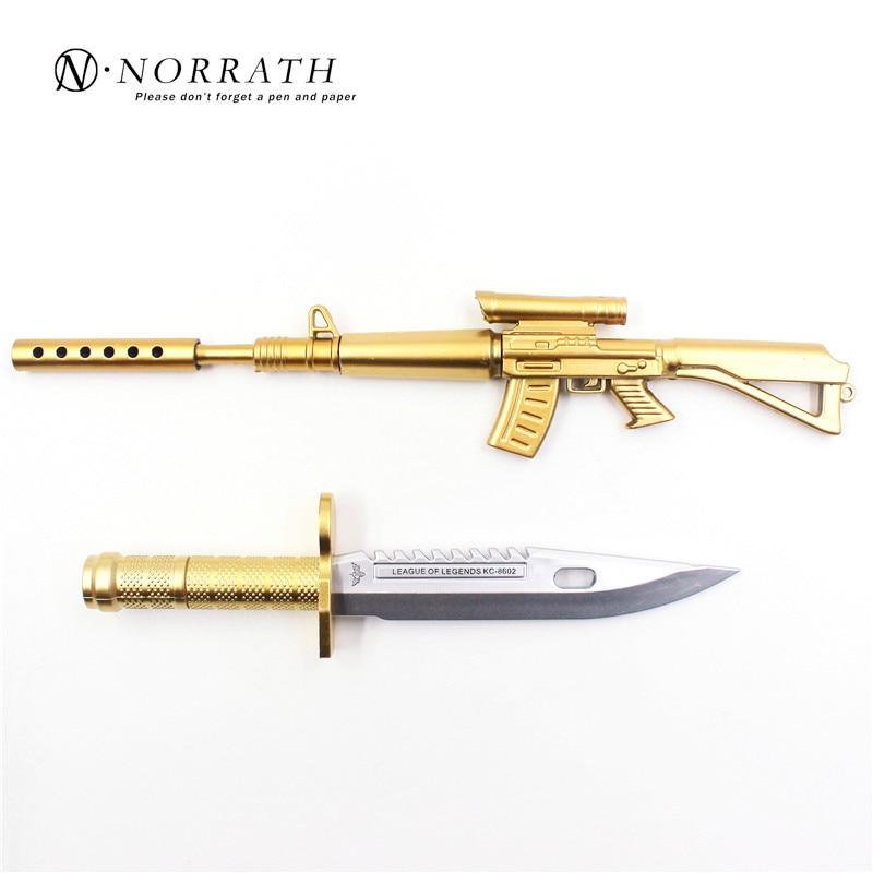 Cute Gun Knife Style Gel Pen Child Gift Kawai Stationery Korean Pens School And Office Supplies