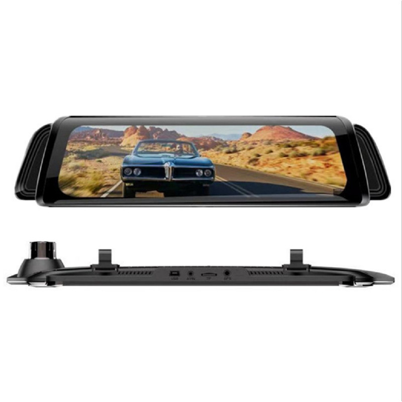 "Image 4 - Stream Media Car Recorder 10"" Car DVR Camera Rear View Mirror FHD 1080P 170 Degree Wide Angle Dash Cam Registrar-in DVR/Dash Camera from Automobiles & Motorcycles"