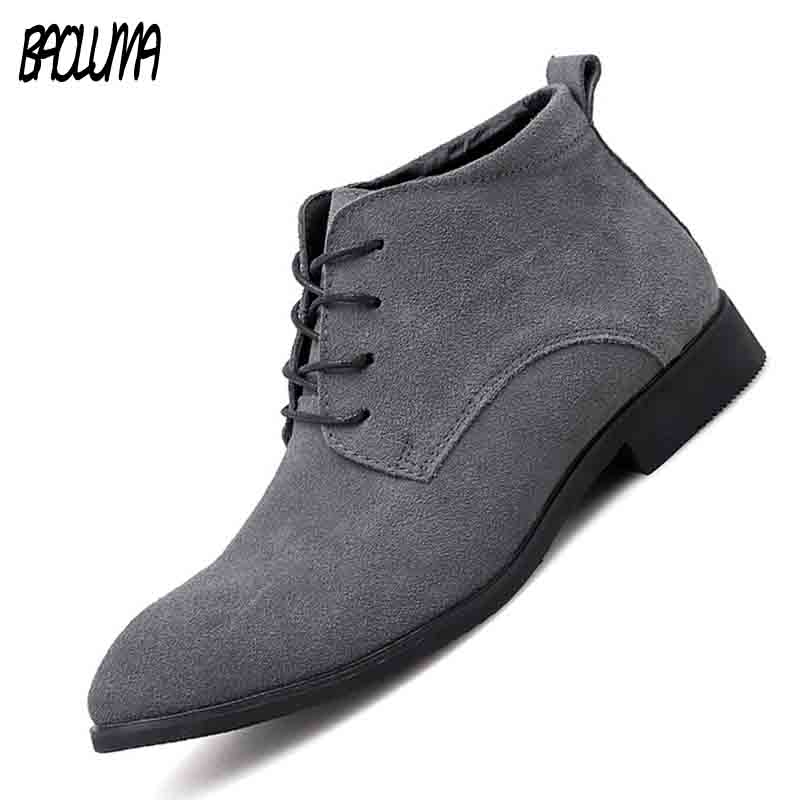 Really   Leather     Suede   High Quality   Leather   Business Casual Shoes Men Dress Office Luxury Shoes Male Breathable Oxfords Men Formal