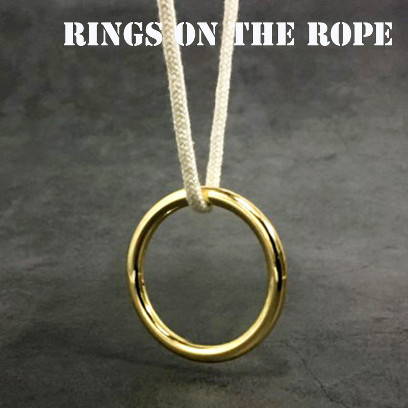 Rings On The Rope Magic Tricks Ring Renetrates Rope Magica Escape Illusion Magician Stage Gimmick Accessories Mentalism FISM Hot