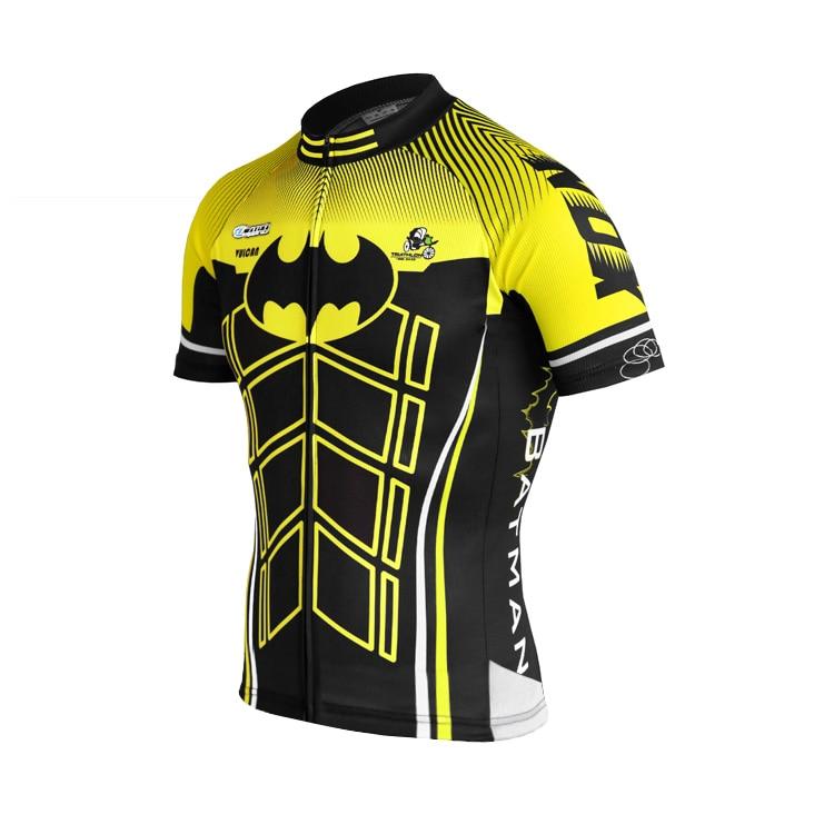 IRONANT Bike Shirt Bycicle Cycling Jersey Short-Sleeve Maillot Breathable Black Light