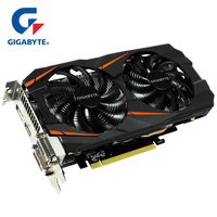 Gigabyte Graphics Card GTX 1060 WINDFORCE OC 3G NVIDIA GeForce Integrated with 3GB GDDR5 192bit memory for PC Graphics Cards