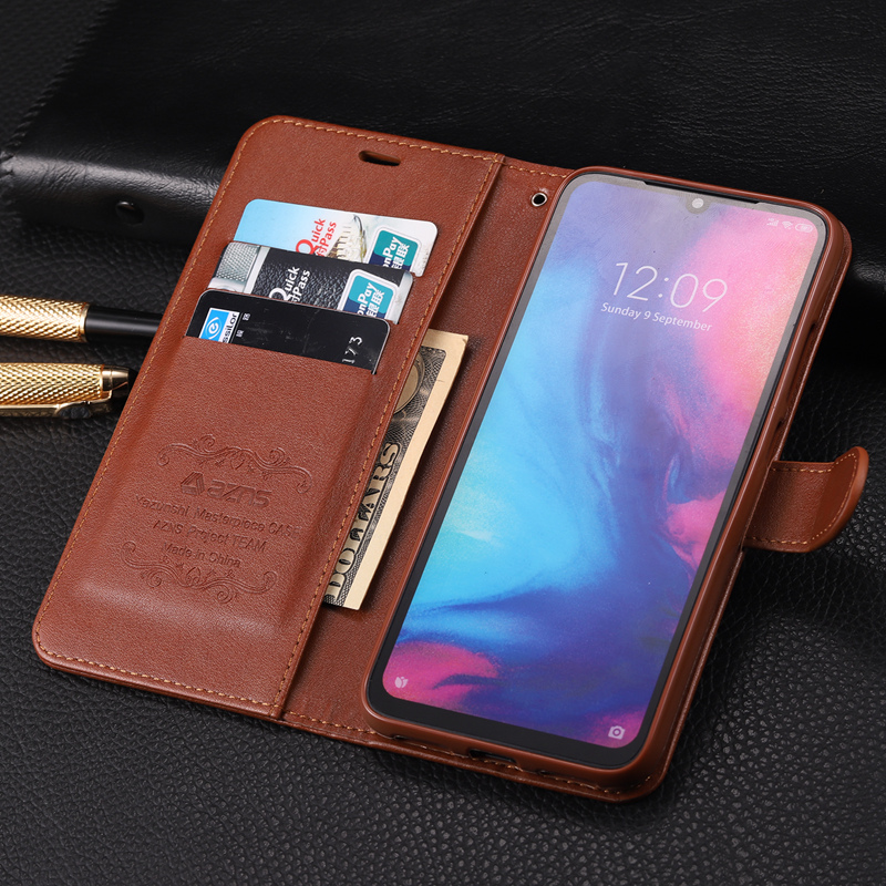 Vintage Flip Stand PU Leather Wallet Case for Xiaomi Mi 9 8 Lite Mi9 SE CC9 F1 Redmi Note 10 8 Pro 8T 7 6 8A 7A K20 K30 Max 3