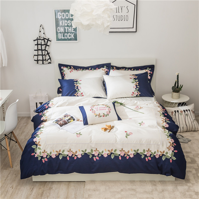 beautiful white queen size beds from us stores | Aliexpress.com : Buy 60S Egyptian Cotton White Exquisite ...