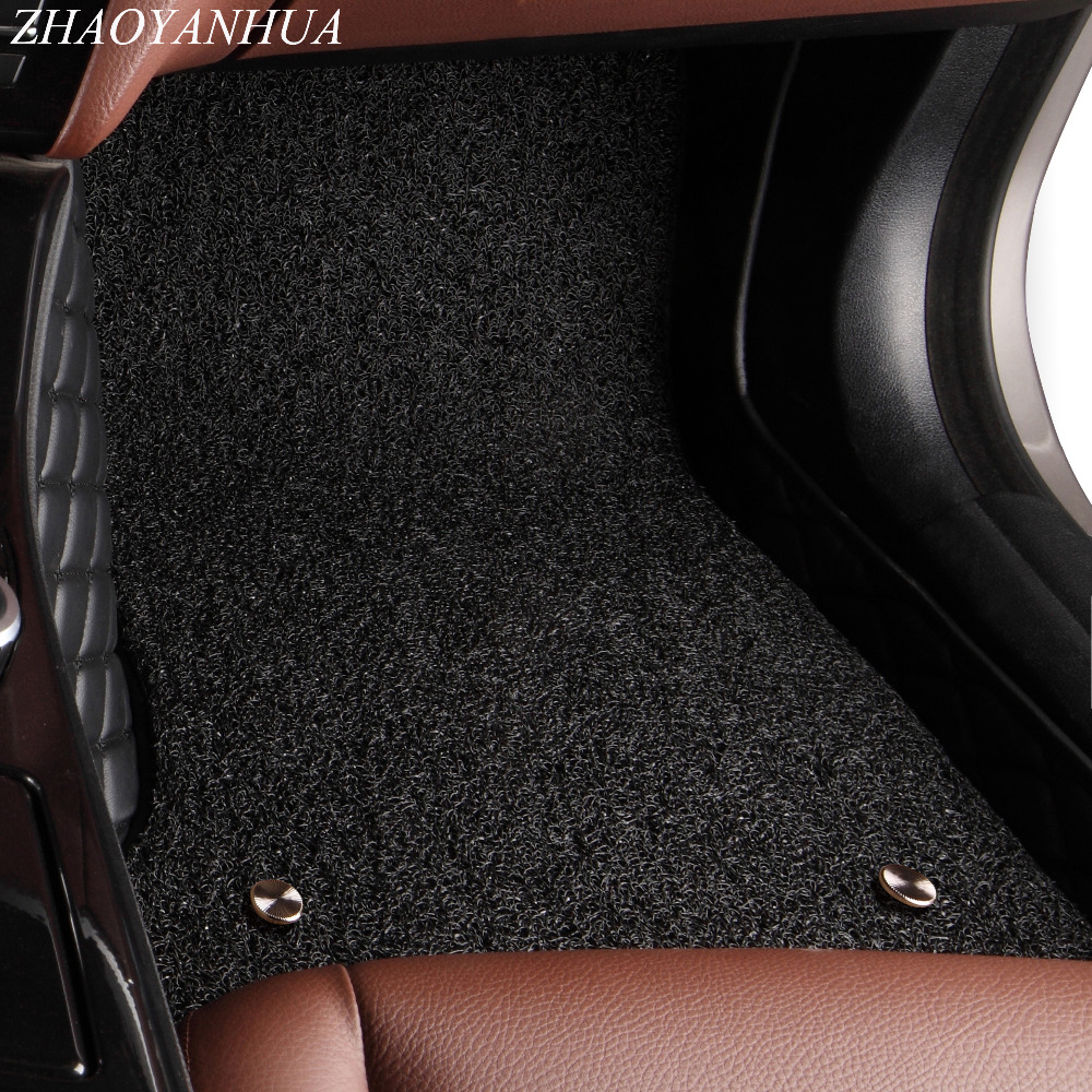 ZHAOYANHUA Voiture tapis de sol pour Nissan Sentra Sylphy Murano Rouge X-sentier Altima Versa Tida 5D voiture style tapis tapis liners