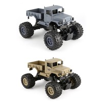 ZEGAN RC Truck ZG C1231W 4WD 1/12 2.4G Military Off Road Climber Crawler Car Remote Control Vehicle for Kids Toy Children Gift