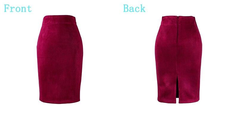 HTB16HleQpXXXXblXpXXq6xXFXXXH - Wine Red Women Pencil Skirts JKP227