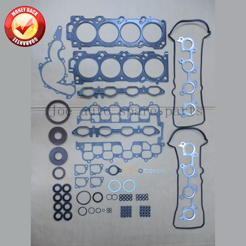 2UZ 2UZFE Engine complete Full gasket set kit for Toyota LAND CRUISER 100 4.7L 4664CC 1998-up 04111-50122 04111-50121 430595P