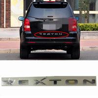 Genuine Rear Trunk Tailgate Logo Emblem for Ssangyong REXTON 2006 ~2012 Rear Trunk Lid Logo Emblem badge 7991008020
