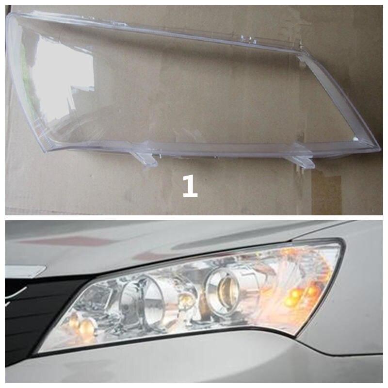 Для Geely Emgrand 7 EC7 EC715 EC718 Emgrand7, автомобиль серебряном фоне фар головного света прозрачная крышка