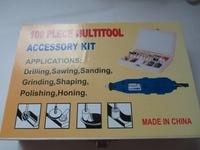 100 Pcs Rotary Tool Accessory Bit For 1 8 NR Shank Grinding Polish New