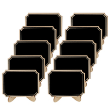 5pcs/Lot  Inner Corner Wooden mini blackboard For Wedding Party Decora