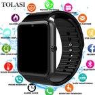 ★  Relogio inteligente Bluetooth Smart Watch Мужчины Интеллектуальные цифровые спортивные Smartwatch GT ①