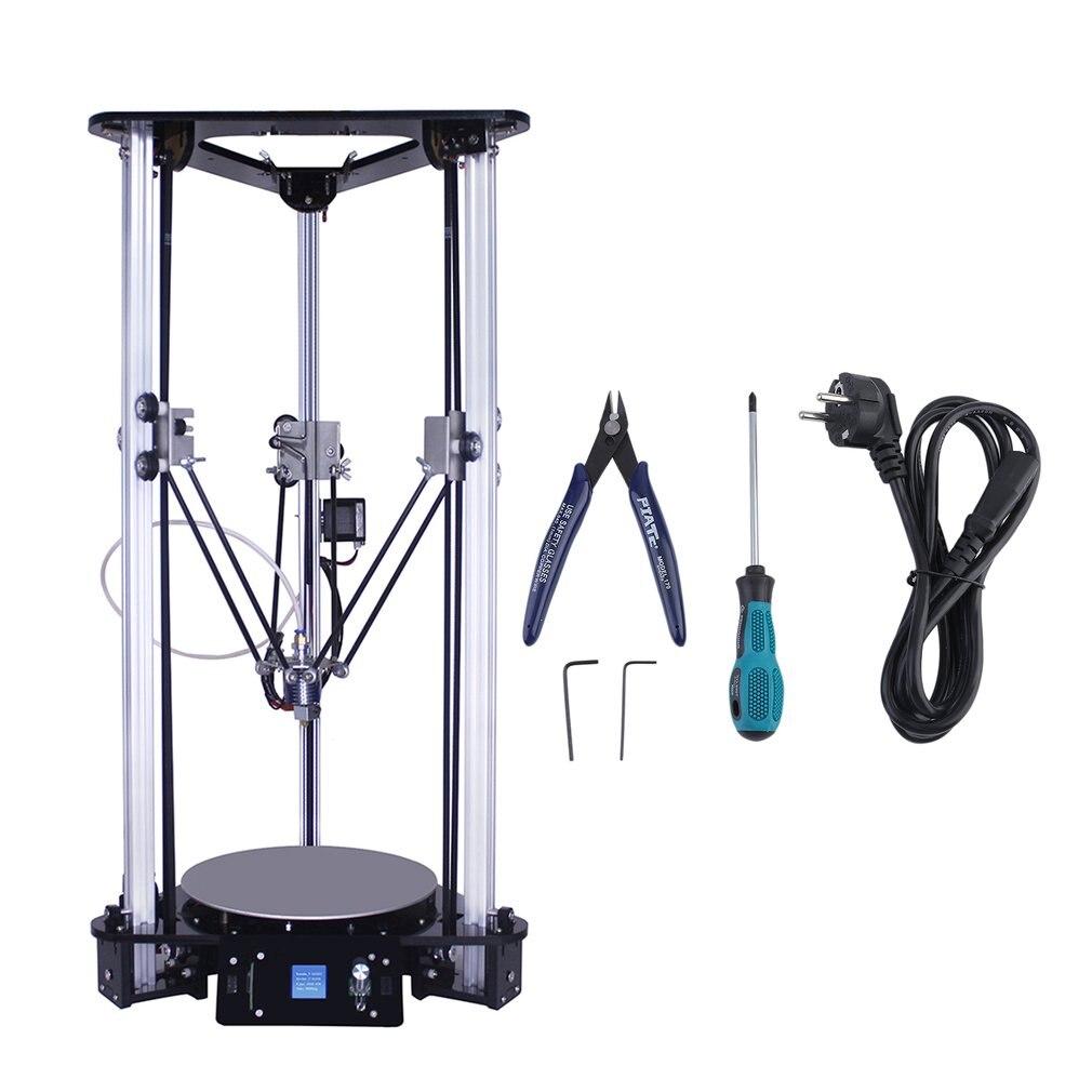 EZT Desktop DIY 3D Printer Industrial High Precision Hot Bed Leveling 3D Printer Large Printing Size 180*180*320mm 3D Drucker