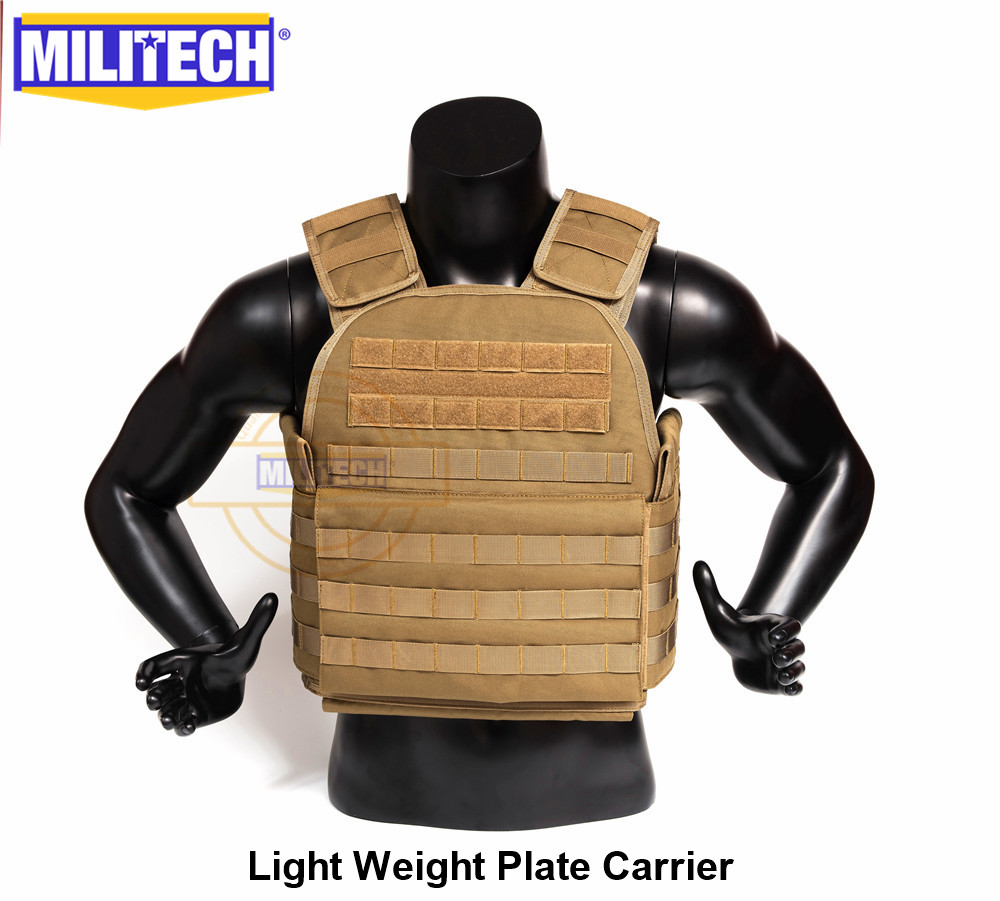 MILITECH Light Weight Plate Carrier Coyote Brown CB Military Combat Assault Tactical Vest Police Overt Body Armor Plate CarrierMILITECH Light Weight Plate Carrier Coyote Brown CB Military Combat Assault Tactical Vest Police Overt Body Armor Plate Carrier