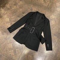Black Jacket for Women Spring Long Sleeve High Quality Elegant Coat 2019 New Party Women Jacket