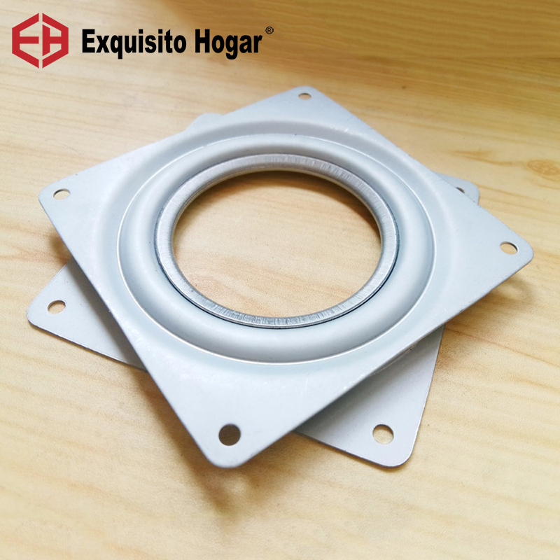 New Fitting 4'' Small Exhibition Turntable Bearing Swivel Plate Lazy Susan! Great For Mechanical Projects! premintehdw 120mm 4 7 new design lazy susan aluminum ball bearing turntable bearings