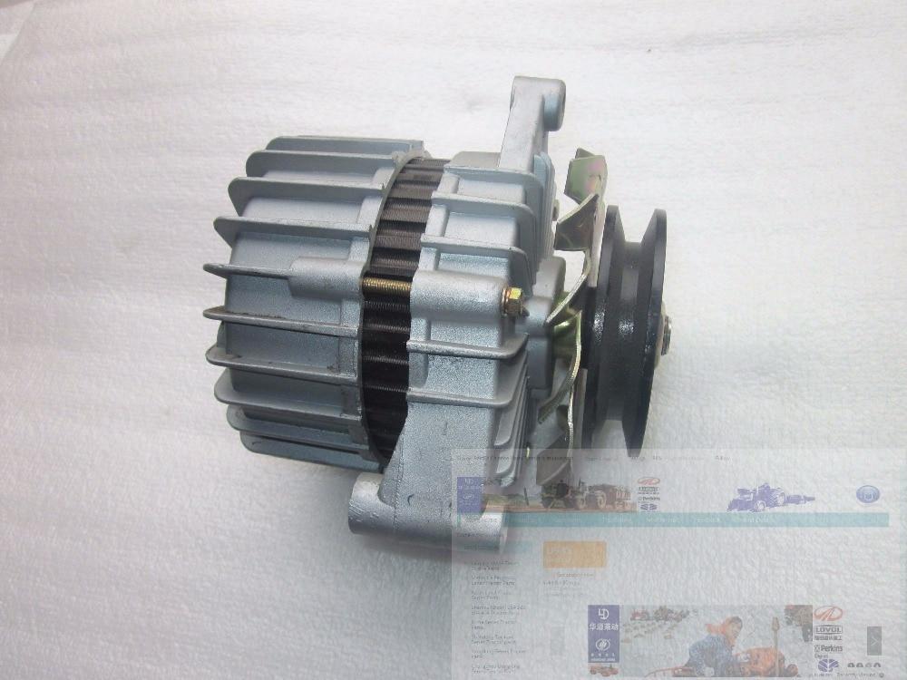 Shanghai SH 504 tractor parts the alternator 12V 14V part number