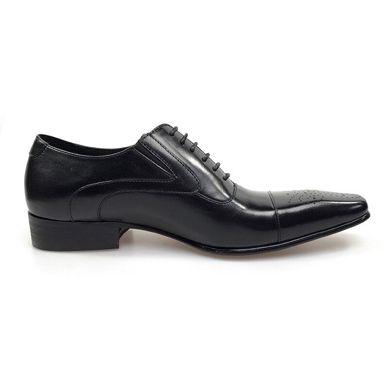 102d72b97ec GRIMENTIN Zapatos de vestir de hombre cuero genuino negro italiano moda  negocios oxford zapatos 2017 en Zapatos formales de zapatos en  AliExpress.com ...
